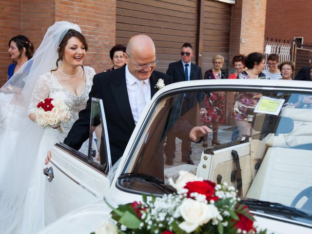 Il matrimonio di Valentina e Luigi a Guidonia Montecelio, Roma 15