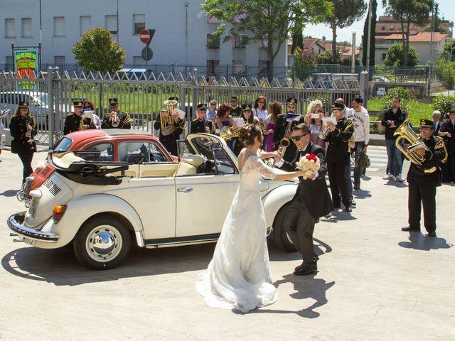 Il matrimonio di Valentina e Luigi a Guidonia Montecelio, Roma 23