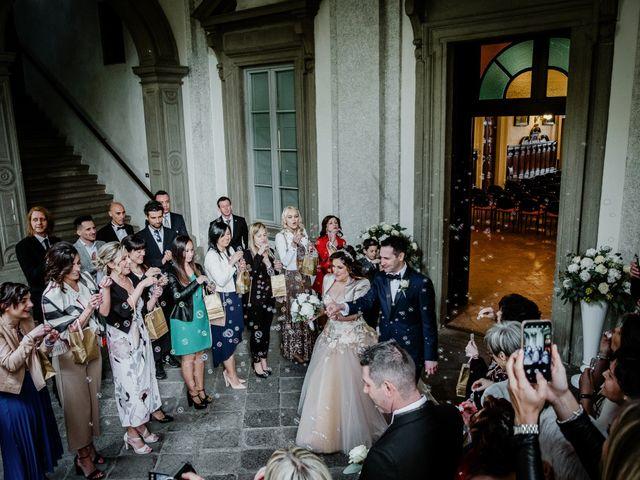 Il matrimonio di Andrea e Emanuela a Dongo, Como 10