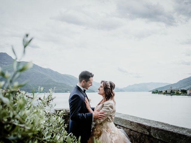 Il matrimonio di Andrea e Emanuela a Dongo, Como 12