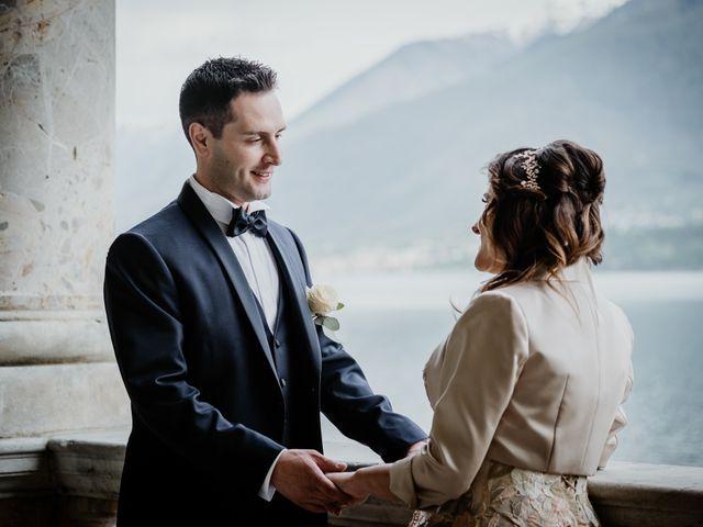 Il matrimonio di Andrea e Emanuela a Dongo, Como 13