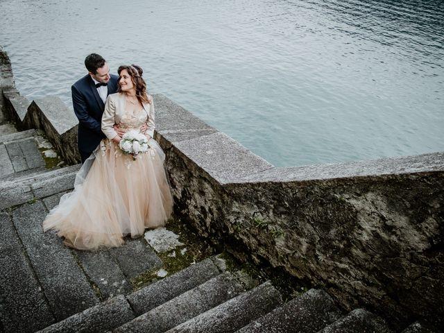 Il matrimonio di Andrea e Emanuela a Dongo, Como 17