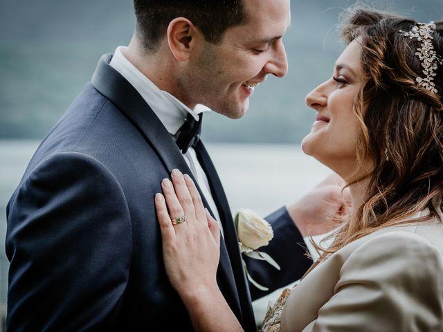 Il matrimonio di Andrea e Emanuela a Dongo, Como 18