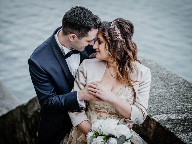 Il matrimonio di Andrea e Emanuela a Dongo, Como 19