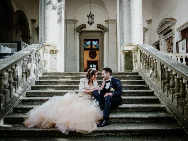 Il matrimonio di Andrea e Emanuela a Dongo, Como 20
