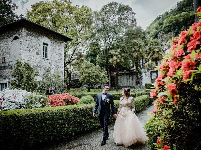 Il matrimonio di Andrea e Emanuela a Dongo, Como 21