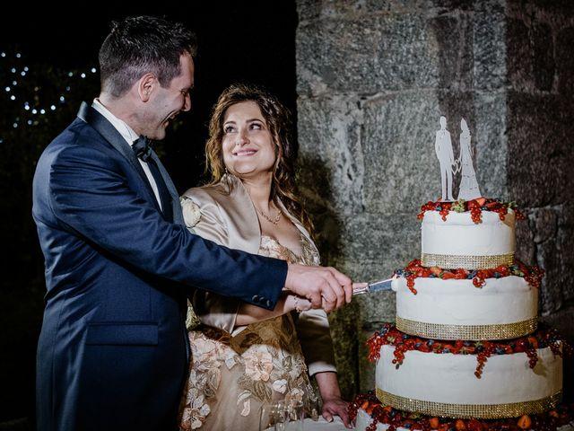 Il matrimonio di Andrea e Emanuela a Dongo, Como 37