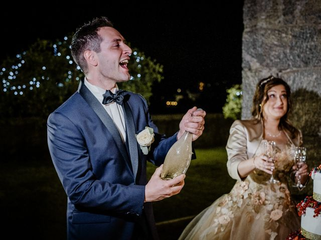 Il matrimonio di Andrea e Emanuela a Dongo, Como 38