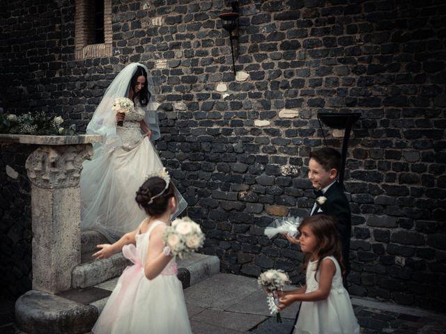 Il matrimonio di Massimiliano e Francesca a Roma, Roma 1