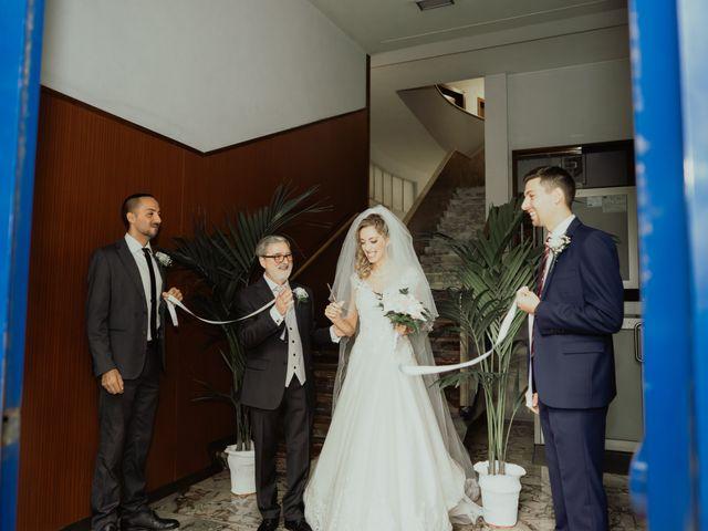Il matrimonio di Simone e Miriam a Sant'Angelo Romano, Roma 38