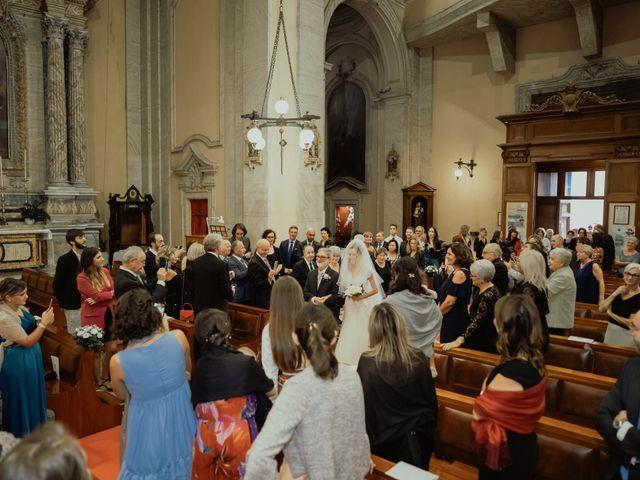 Il matrimonio di Simone e Miriam a Sant'Angelo Romano, Roma 40