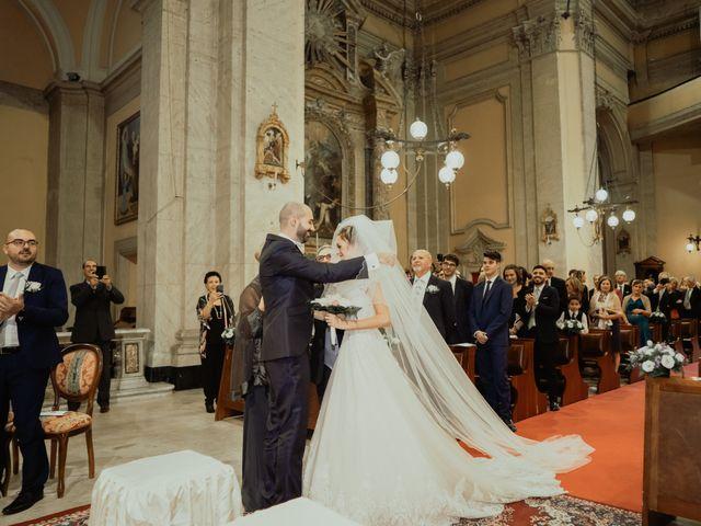 Il matrimonio di Simone e Miriam a Sant'Angelo Romano, Roma 41