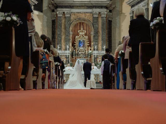Il matrimonio di Simone e Miriam a Sant'Angelo Romano, Roma 42