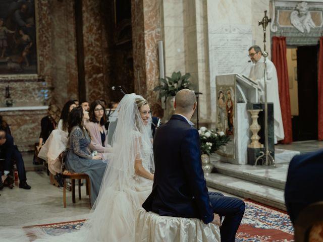 Il matrimonio di Simone e Miriam a Sant'Angelo Romano, Roma 43