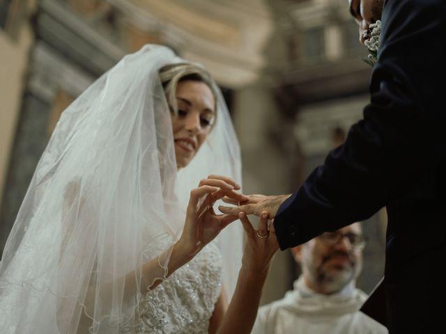 Il matrimonio di Simone e Miriam a Sant'Angelo Romano, Roma 45