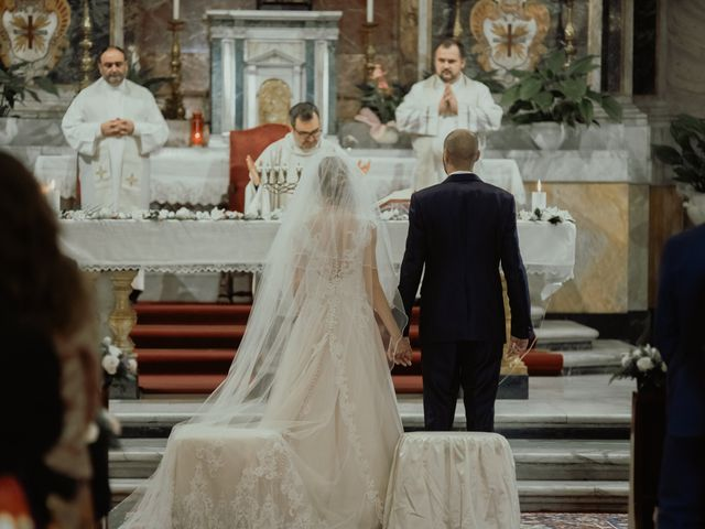 Il matrimonio di Simone e Miriam a Sant'Angelo Romano, Roma 47