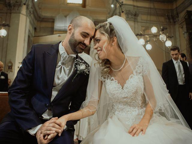 Il matrimonio di Simone e Miriam a Sant'Angelo Romano, Roma 49