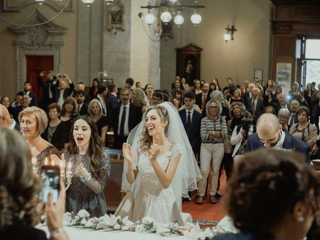 Il matrimonio di Simone e Miriam a Sant'Angelo Romano, Roma 50