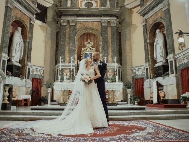 Il matrimonio di Simone e Miriam a Sant'Angelo Romano, Roma 52