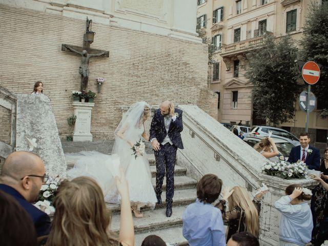 Il matrimonio di Simone e Miriam a Sant'Angelo Romano, Roma 53