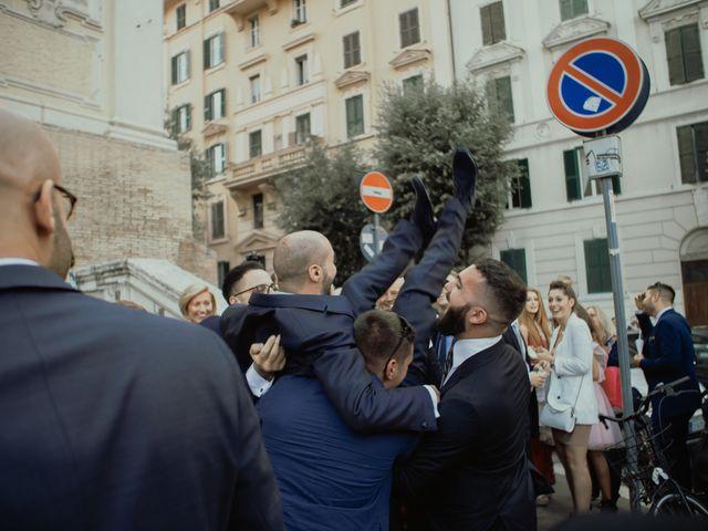 Il matrimonio di Simone e Miriam a Sant'Angelo Romano, Roma 54