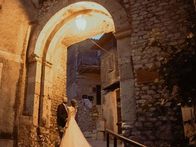 Il matrimonio di Simone e Miriam a Sant'Angelo Romano, Roma 57