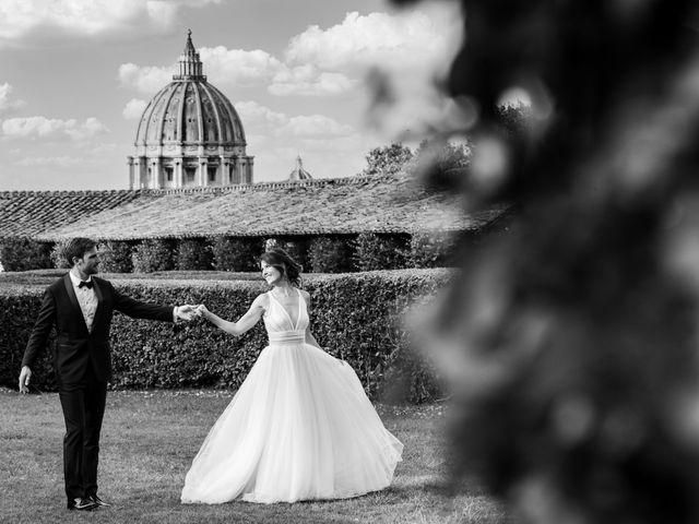 Il matrimonio di Lavinia e Lorenzo a Roma, Roma 2