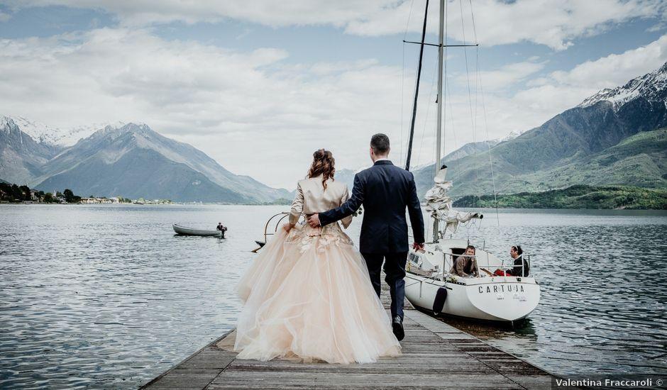 Il matrimonio di Andrea e Emanuela a Dongo, Como
