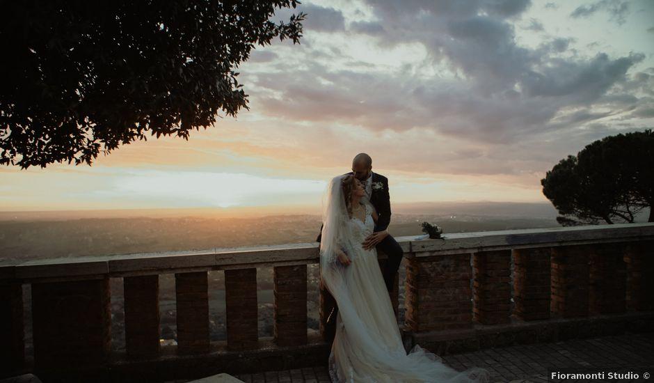 Il matrimonio di Simone e Miriam a Sant'Angelo Romano, Roma