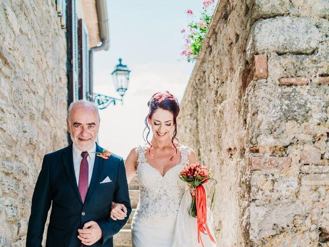 Il matrimonio di Luciano e Simona a Todi, Perugia 17