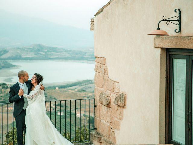Il matrimonio di Salvatore e Miriam a Agira, Enna 53