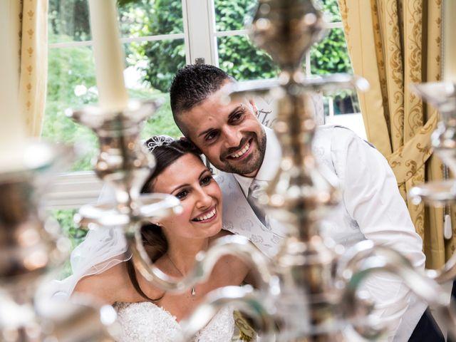 Il matrimonio di Claudio e Cristina a Lesmo, Monza e Brianza 3