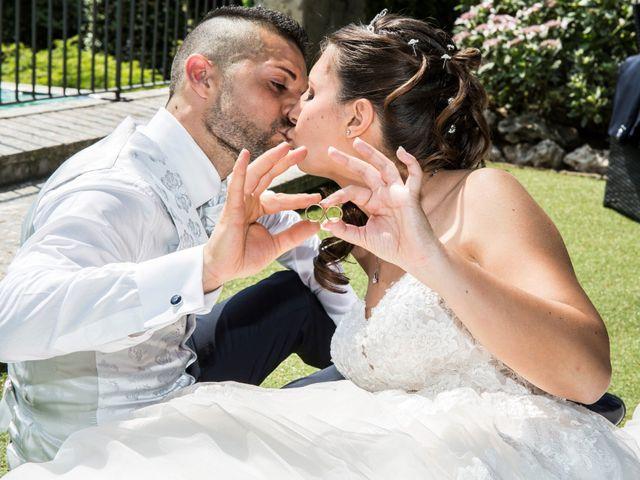 Il matrimonio di Claudio e Cristina a Lesmo, Monza e Brianza 20