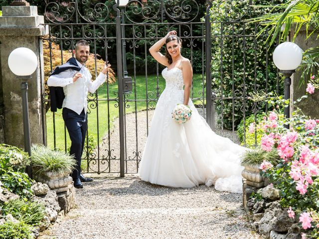 Il matrimonio di Claudio e Cristina a Lesmo, Monza e Brianza 22