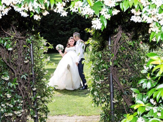 Il matrimonio di Claudio e Cristina a Lesmo, Monza e Brianza 24
