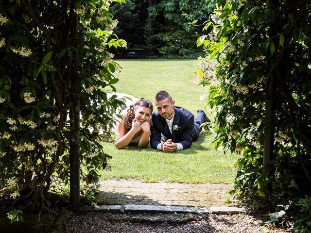 Il matrimonio di Claudio e Cristina a Lesmo, Monza e Brianza 25