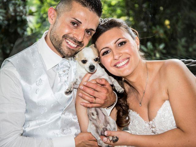 Il matrimonio di Claudio e Cristina a Lesmo, Monza e Brianza 32