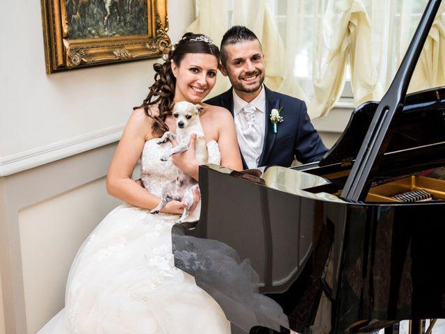 Il matrimonio di Claudio e Cristina a Lesmo, Monza e Brianza 34