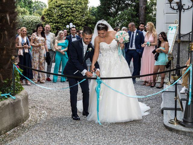 Il matrimonio di Claudio e Cristina a Lesmo, Monza e Brianza 55