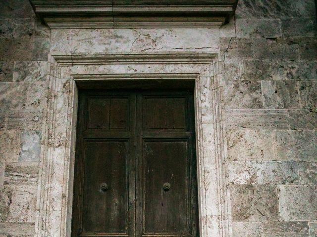 Il matrimonio di Nicola e Margherita a Pienza, Siena 3