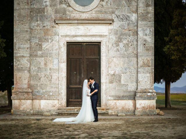 Il matrimonio di Nicola e Margherita a Pienza, Siena 11