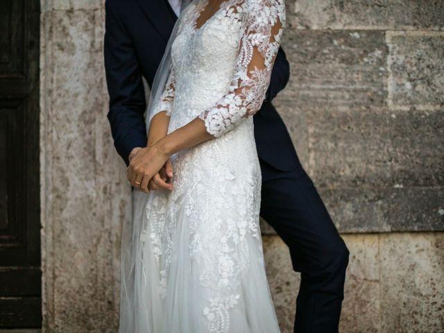 Il matrimonio di Nicola e Margherita a Pienza, Siena 13