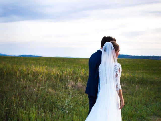 Il matrimonio di Nicola e Margherita a Pienza, Siena 51