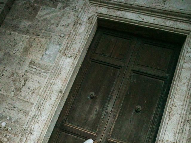 Il matrimonio di Nicola e Margherita a Pienza, Siena 19