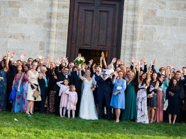 Il matrimonio di Nicola e Margherita a Pienza, Siena 33