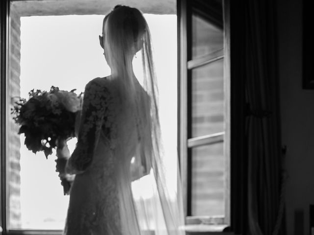 Il matrimonio di Nicola e Margherita a Pienza, Siena 37