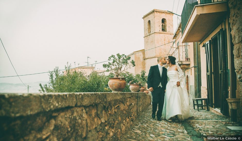 Il matrimonio di Salvatore e Miriam a Agira, Enna