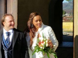 Le nozze di Daritza Luque Macias  e Federico Baldi