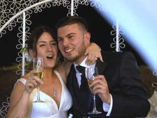 Le nozze di Simone e Giorgia