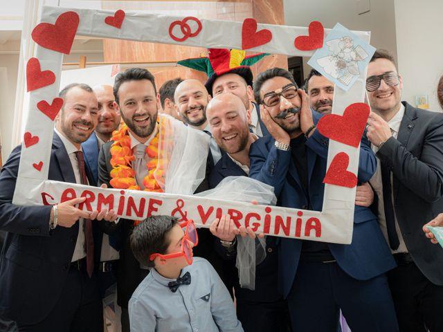 Il matrimonio di Carmine e Virginia a Agropoli, Salerno 30
